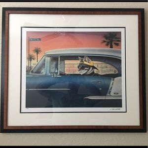 Limited Edition Kruiser Kat by Don Roth Coa